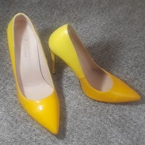 Yellow, 4.75 inch pumps